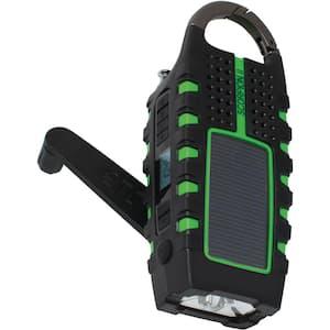 Scorpion II Rugged, Portable, Weather Alert, Multi-Purpose Digital Radio w/Smartphone Charging and Crank Power Back-Up