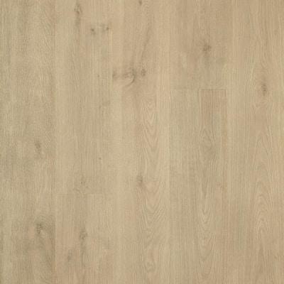 Outlast+ 7.48 in. W Natural Cascade Oak Waterproof Laminate Wood Flooring (19.63 sq. ft./case)