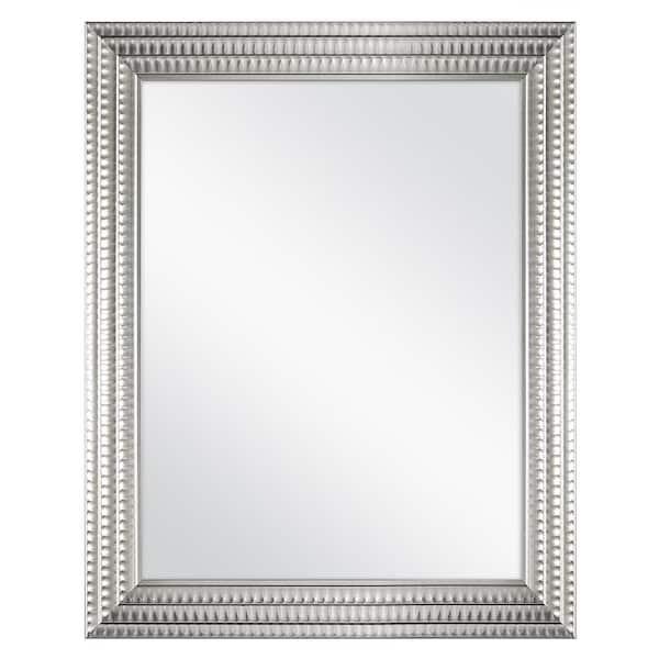 Home Decorators Collection 22 In W X, Silver Bathroom Mirrors