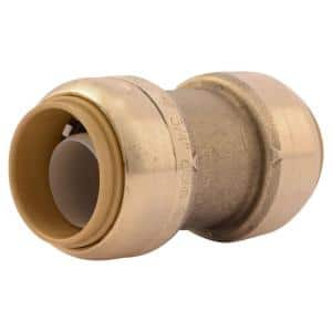 3/4 in. Push-to-Connect Brass Coupling Fitting
