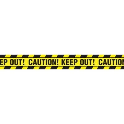 20 ft. x 3 in. Halloween Caution Tape Banner (8-Pack)