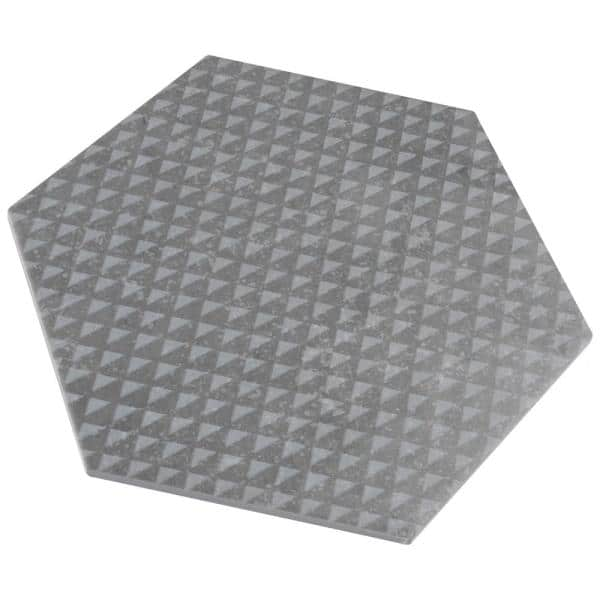 Merola Tile Coralstone Hexagon Melange Grey 10 In X 11 1 2 In Porcelain Floor And Wall Tile 11 21 Sq Ft Case Feqcsxmg The Home Depot