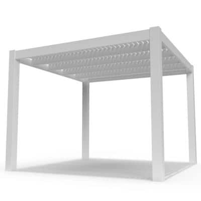 Modern 12 ft. x 12 ft. Freestanding Pergola with 7 in. Columns