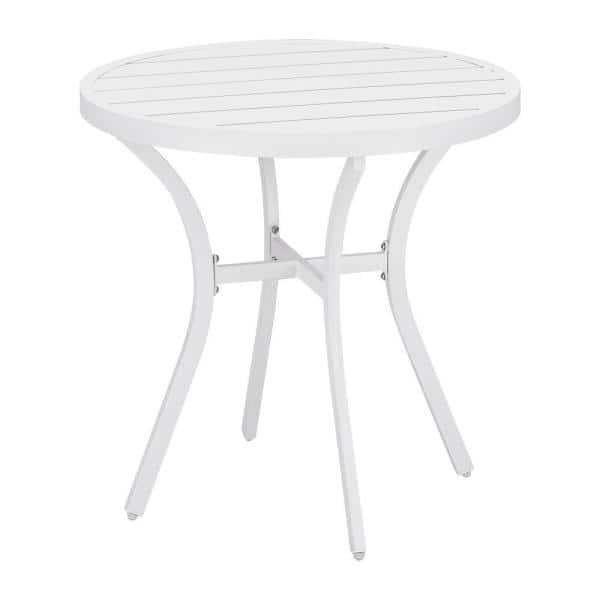 Stylewell Mix And Match 28 In White, 28 Round Table