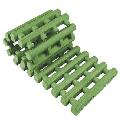 24 in. Heavy-Duty Rubber Non-Slip Traction Aid Roll Out Grip