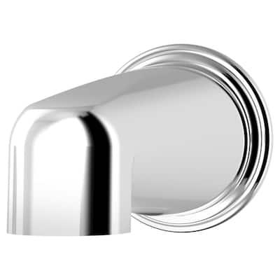 Elm 5 7/8 in. Non-Diverter Tub Spout in Chrome