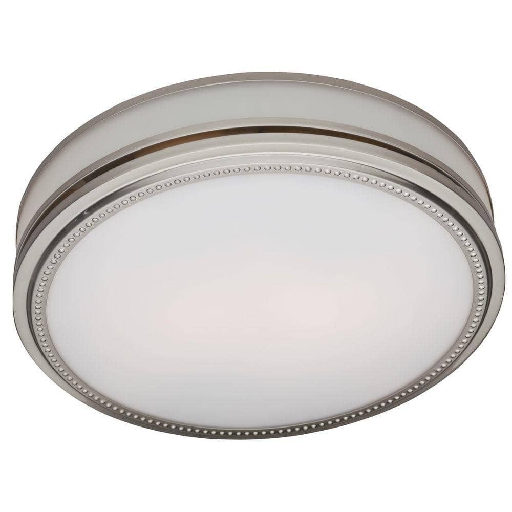Reviews For Hunter Riazzi Decorative 110 Cfm Ceiling Bath Fan With Cased Glass And Night Light 83001 The Home Depot
