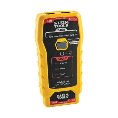 LAN Explorer Data Cable Tester with Remote