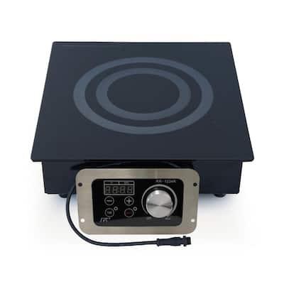 12.5 in. Built-In Radiant Electric Cooktop in Black