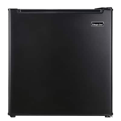 1.7 cu. ft. Mini Fridge in Black with Freezerless Design