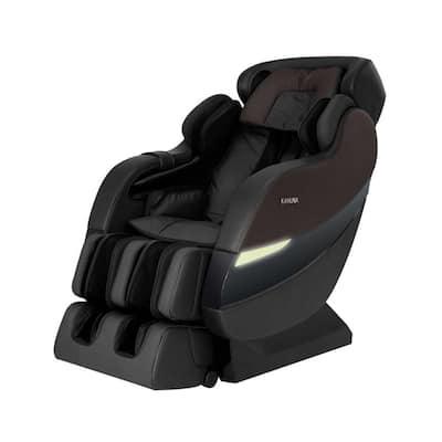 SM7300S Dark Brown SL-Track 6 Rollers Superior Reclining Massage Chair