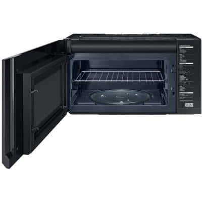 30 in. W 2.1 cu. ft. Over the Range Microwave in Fingerprint Resistant Stainless Steel with Sensor Cooking