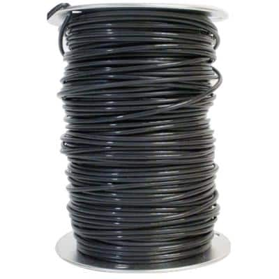 500 ft. 10 Black Solid CU THHN Wire