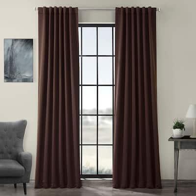 Java Rod Pocket Blackout Curtain - 50 in. W x 108 in. L