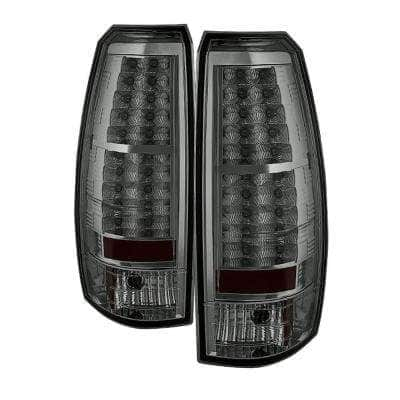 Chevy Avalanche 07-13 LED Tail Lights - Smoke