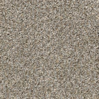 Clareview - Color Eastglen 12 ft. Texture Gray Carpet
