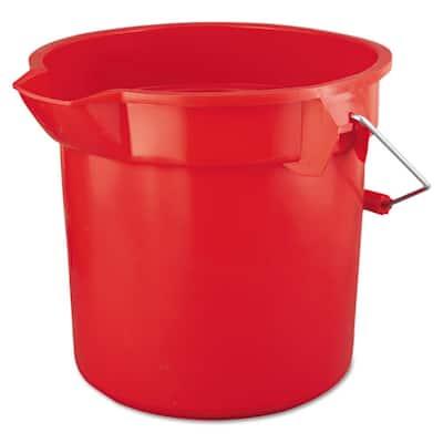 Brute 14 Qt. Red Round Bucket