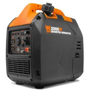 Super Quiet 2000-Watt Gas-Powered Portable Inverter Generator with Fuel Shut Off CARB Compliant