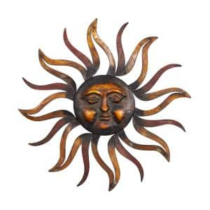 Iron Bronze Celestial Sun Metal Work