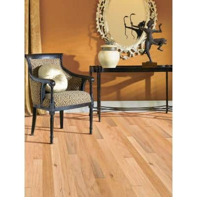 Hickory Sea Mist 3/8 in. Thick x 4-3/4 in. Wide x Random Length Engineered Click Hardwood Flooring (33 sq. ft. / case)
