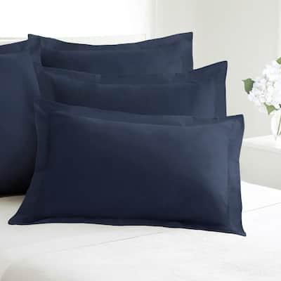 Tailored Navy Pillow Sham 2-Pack