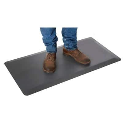 """AIRLIFT Anti-Fatigue Comfort Mat for Standing Desks, 39"""" x 20"""" x .7"""" thick, Gray"""