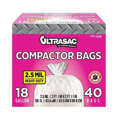 15 gal. Compactor Bags (40 Count)