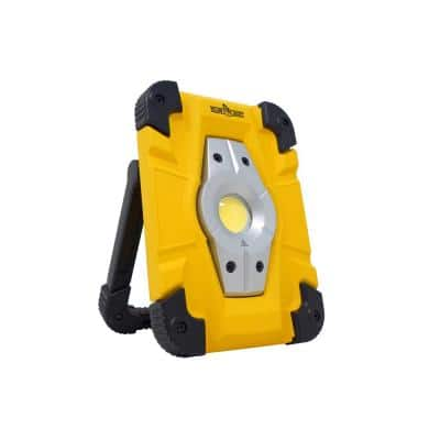 1000 Lumens Rechargeable Work Light, Yellow