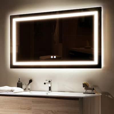 Led Light Bathroom Mirrors Bath, Light Bulbs For Bathroom Mirrors