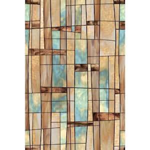 24 in. x 36 in. City Lights Decorative Window Film