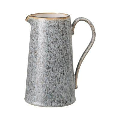 40.57 oz. Studio Grey Stoneware Large Jug