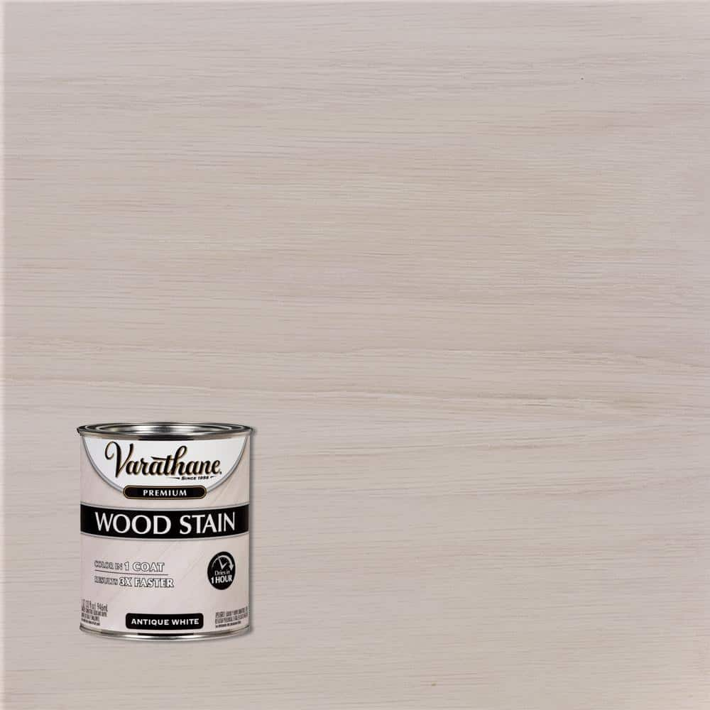 Varathane 1 qt. Antique White Premium Fast Dry Interior Wood Stain