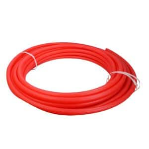 3/4 in. x 100 ft. PEX Tubing Oxygen Barrier Radiant Heating Pipe in Red