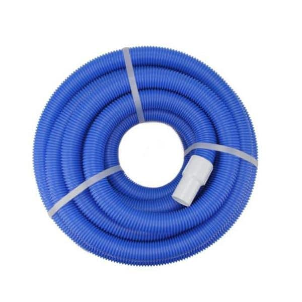 Northlight 100 Ft X 1 5 In Blow Molded Pe In Ground Swimming Pool Vacuum Hose With Swivel Cuff 32037064 The Home Depot