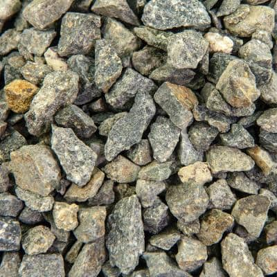 0.25 cu. ft. 3/8 in. Crushed Gravel Bagged Landscape Rock and Pebble for Gardening, Landscaping, Driveways and Walkways
