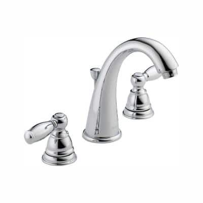 Claymore 8 in. Widespread 2-Handle Bathroom Faucet in Chrome