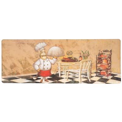 Chef Service 18 in. X 47 in. Multi Anti-Fatigue Mat