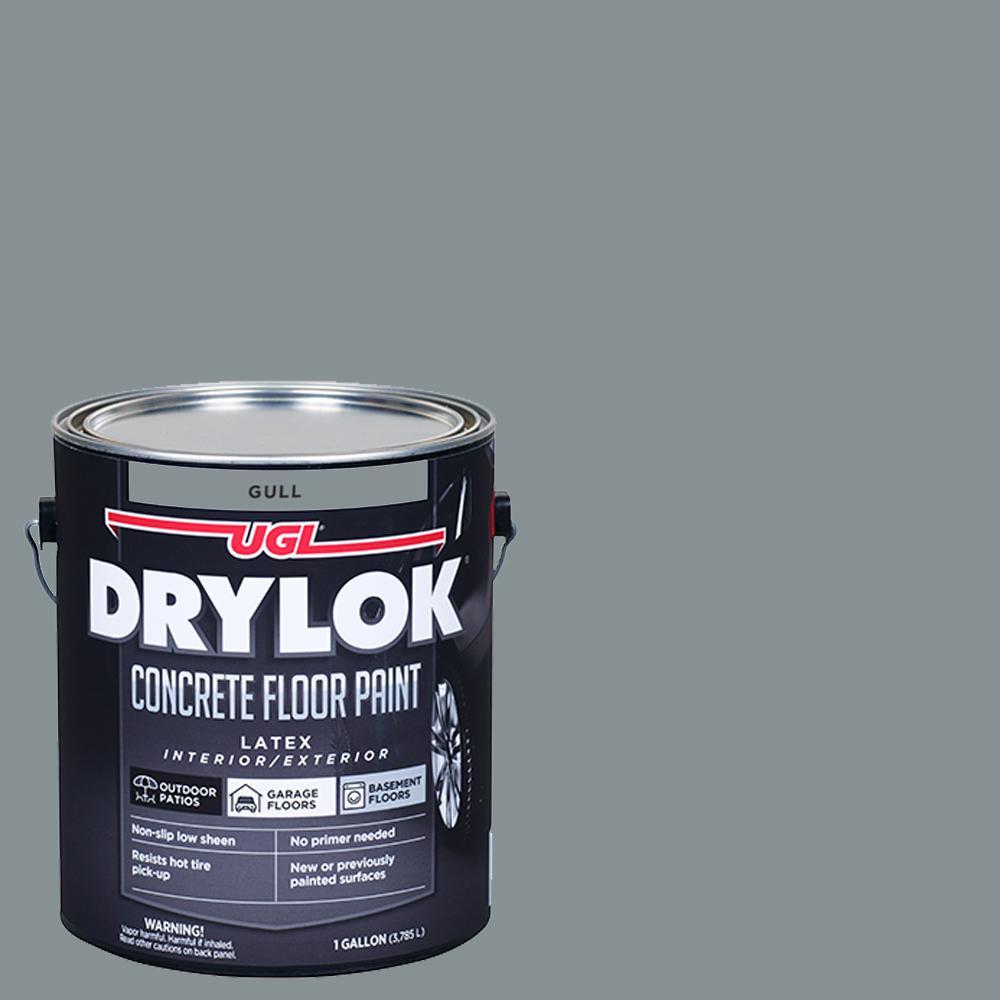 1 Gal. Gull Low-Sheen Concrete Floor Paint