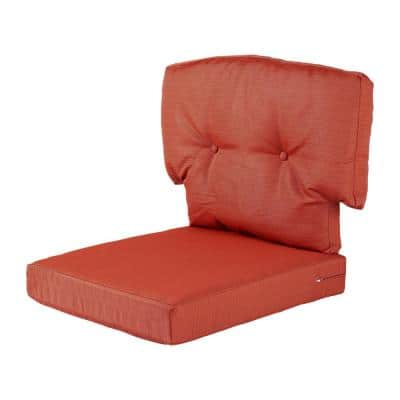 Charlottetown Quarry Red Outdoor Chair Replacement Cushion