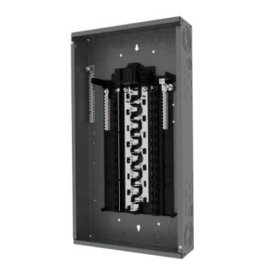 SN Series 100 Amp 30-Space 30-Circuit Indoor Main Breaker Plug-On Neutral Load Center
