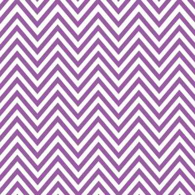 Creative Covering Purple and White Chevron Adhesive Shelf and Drawer Liner