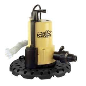 0.25 HP Automatic Pool Cover Utility Pump