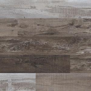 Woodland Hickory Lake 7 in. x 48 in. Rigid Core Luxury Vinyl Plank Flooring (23.8 sq. ft. / case)