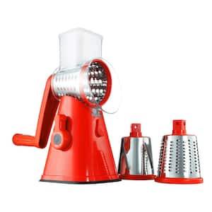 NutriSlicer 3-in-1 Spinning/Rotating Mandoline and Countertop Food Slicer and Grater