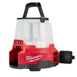 M18 ONE-KEY 18-Volt Lithium-Ion Cordless RADIUS LED Compact Site Light with Twistlock (Tool Only)