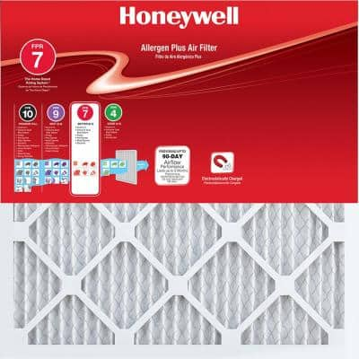 17-1/2 x 23-1/2 x 1 Allergen Plus Pleated FPR 7 Air Filter