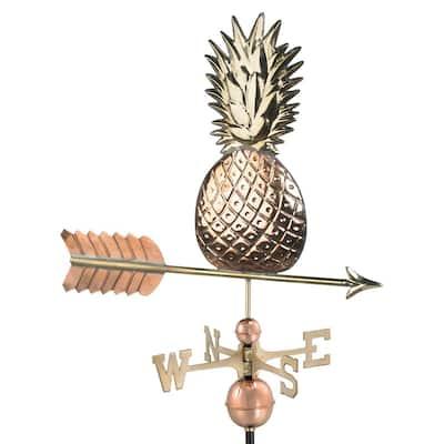 Pineapple Weathervane - Pure Copper
