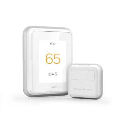 T9 WiFi 7-Day Programmable Smart Thermostat with Touchscreen Display and Smart Room Sensor