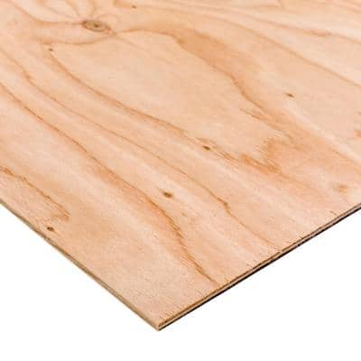BC Sanded Plywood (Common: 7/32 in. x 2 ft. x 2 ft.; Actual: 0.219 in. x 23.75 in. x 23.75 in.)