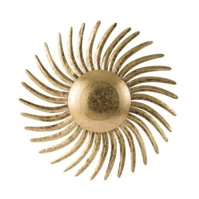 32 in. Gold Wall Decor